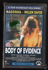Body of Evidence (Madonna) VHS nuova sigillata