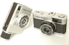 CANON DIAL 35 AND OLYMPUS TRIP 35 CAMERAS IN FAIRLY NICE CONDITION.FREE WW SHIP.