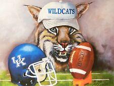 "New University of Kentucky Wildcats ""UK"" Football Print, J. Conway Sig."