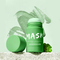 Green Tea Purifying Clay Stick Mask Oil Control Anti-Acne Eggplant Solid Fine sa