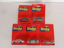 Matchbox Dinky Toys Die Cast VW Golf Citroen Firebird Fiat Vette on Red Card B24