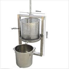 Hollow Barrel + Wine Barrel Separation Grape Press Machine Winepress L size
