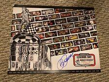 Roger Penske Signed 11 X 14 Indy 500 Legend Poster From 2012 Autographed