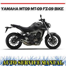 Yamaha Mt09 Mt-09 Fz-09 Bike Factory Workshop Service Repair Manual PDF