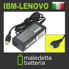Alimentatore 20V 3,2A 65W per ibm-lenovo Thinkpad X240