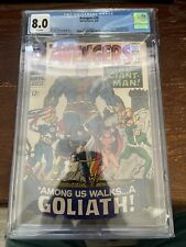 AVENGERS #28  CGC 8.0 WHITE PAGES! 1ST APPEARANCE OF THE COLLECTOR 1966