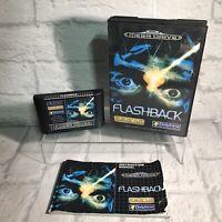 Flashback MegaDrive Game - SEGA 1993 COMPLETE - Boxed PAL - Tested Working VGC