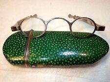 1834 Thomas Millington Signé Avec Rare OWNER'S Initiales Argent Spectacles