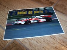 Photo / Photograph  Jochen Mass McLAREN Ford M23 GP Monaco 1976 //