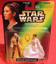 STAR WARS. Princess Leia and Luke Skylwalker. Figurine Kenner 1997 sous blister