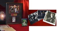 GEORGE ROMERO Photo + CAST Signed NIGHT OF THE LIVING DEAD, Prop, Frame, COA DVD