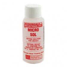 Microscale Industries Micro Sol-Calcomanías ajuste de solución para superficies irregulares