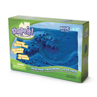 Wabafun - Shape-it The Original Sand Play - Carve It - Bake It - (Blue) NEW