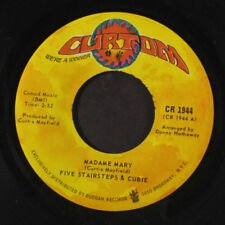 FIVE STAIRSTEPS & CUBIE: Madame Mary / Little Boy Blue 45 (superior vinyl press