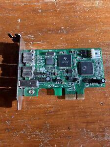 SYBA Low High Profile PCI-Express 1394B/A Firewire Card Model SD-PEX30011