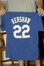 CLAYTON KERSHAW LOS ANGELES DODGERS T SHIRT JERSEY MAJESTIC 2XL CY YOUNG MVP