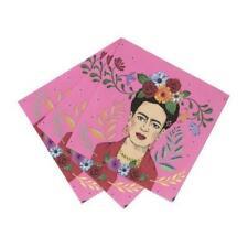 Frida Kahlo™ Cocktail Napkin - 20 Napkins - 20cm - Boho, Party, Tableware