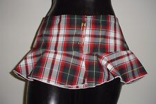 School Girl Skirt (2 Pack) Stripper Pole Dancer Role Playing Exotic Wear