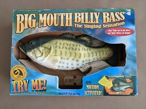 Big Mouth Billy Bass- Sealed Box Take Me To The River & Don't Worry Be Happy New