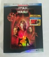 New Star Wars Revenge of the Sith Blu ray w/ Lithographs - FAST SHIPPING