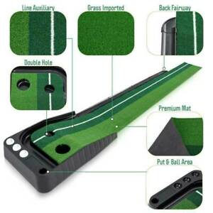Professional Practice Golf Putting mit Incline Green Indoor outdoor Training NEU