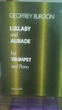 More details for geoffrey burgon - lullaby and aubade for trumpet & piano - pub s&b