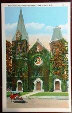 1920's Postcard Deer Park Reformed Church Port Jervis NY