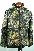 Rivers West Stalker All-Terrain Jacket Medium Mossy Oak Waterproof Hunting 7B7