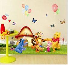 Wandaufkleber Wandtattoo Wandsticker Winniepooh & Freunde Kinderzimmer Winnie
