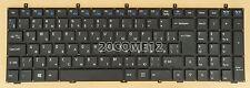 For Clevo MP-12A36SU-43072 6-80-W67B0-280-1D Keyboard Russian NO Frame
