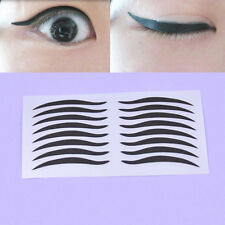 Women Fashion Cat Temporary Eyeliner Sticker Eye Cosmetic Make up Tool 5 Sheets