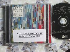 Death Cab For Cutie ‎– Narrow Stairs Atlantic Records  Promo Stickered CD Album