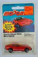 Majorette MOC Porsche 924 Red No 247 Vintage