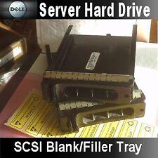 """DELL PowerEdge 1850 2850 2950 etc.3.5"""" SCSI/SAS/SATA Blank Filler Tray 51TJV"""
