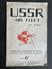 More details for ussr air fleet by john stroud - 1940s first edition folding aeroplane chart