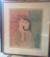 DAVID STEIN SIGNED LITHOGRAPH WOMEn Marie Laurencin   LISTED Forger  MODERNIST