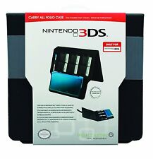 Nintendo 3DS * Officially Licensed Carry All Folio Case * NEW