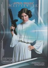 2015 Topps Masterwork Base Card #4  Princess Leia Organa
