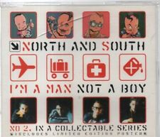NORTH AND SOUTH - I'M A MAN NOT A BOY cd2 (3 track CD single) no poster