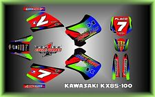 Kawasaki KX85  SEMI CUSTOM GRAPHICS KIT