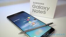 New in Box Samsung Galaxy Note 5 SM-N920 32GB Blue GSM Unlocked for ATT T-Mobile