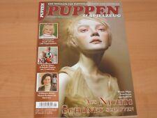 """PUPPEN & SPIELZEUG """" Das Magazin für Puppenliebhaber und Sammler"""" November 2017!"""
