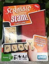 Scrabble Slam Card Game NEW SEALED