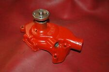 1963-64 CHEVY 3782608 WATER PUMP 283/327 LOW HORSE NO DATE  CORRECT HUB RESTORED