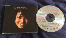 JANET JACKSON CD SINGLE 3 TRACKS ESCAPADE