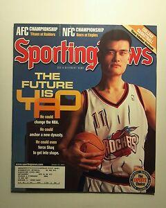January 20 2003 The Sporting News  Yao Ming  Houston Rockets