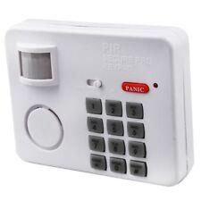 HK Wireless Motion Sensor Alarm with Security Keypad PIR Home Garage Shed C Y1V9