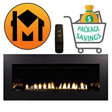 """Empire Boulevard 48"""" Vent-Free Linear Fireplace Vfll48 Closeout Sale Blowout"""