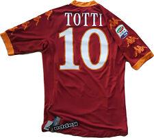 Maglia Roma Totti Kappa 2009 2010 SCUDETTO Worn Jersey XXL Albania