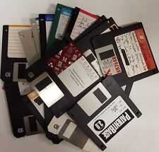 Lot of 100 3.5 inch NON WORKING Used Floppy Disks. For art projects, etc.